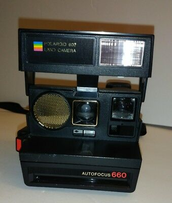 Polaroid 600 Land Camera Autofocus 660