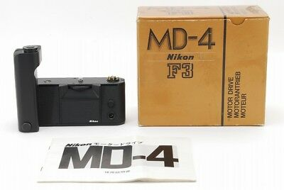 【Almost unused in Box】Nikon Motor Drive MD-4 for F3 from Japan #211