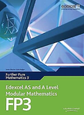 Edexcel AS and A Level Modular Math Further Pure Mathematics 3 FP3 Read on PC/Ph