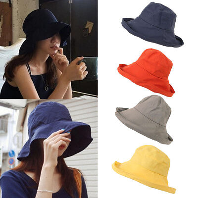3569026f8 SPARSIL UNISEX SUMMER Foldable Bucket Hat Women Outdoor Sunscreen ...