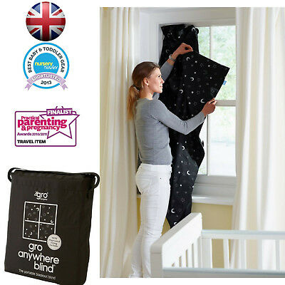 Brand New Gro Anywhere Baby Magic Portable Travel Blackout Blind 2014 Newversion