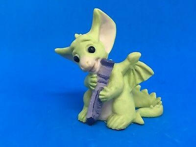 "Real Musgrave Pocket dragon Figurine ""Purple "" 1995"