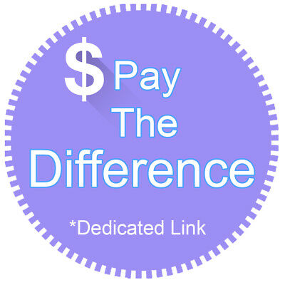 Price Difference Shipping Postage Prepaid Pay for Resending