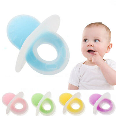 Food-Grade Silicone Baby Teether Toy Chew Teething Nursing Chewing Toys