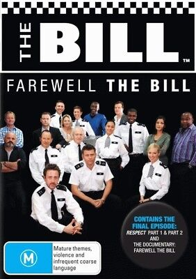 The Bill: Farewell the Bill DVD [Region 2 Compatible] New/Sealed