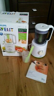 Philips Avent combined Steamer Blender Baby Food Processor - COLLECTION ONLY