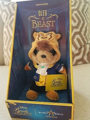 DISNEY Beauty and the Beast baby Oleg toy Limited Edition BNIB