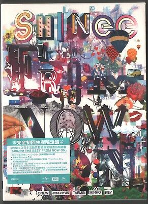 SHINee Japan: The best from now on (2018) 2-CD & DVD & 48p BOOKLET SEALED