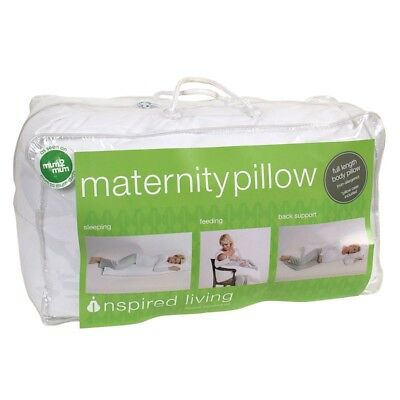 Inspired Living Maternity Pillow with Pillow Case