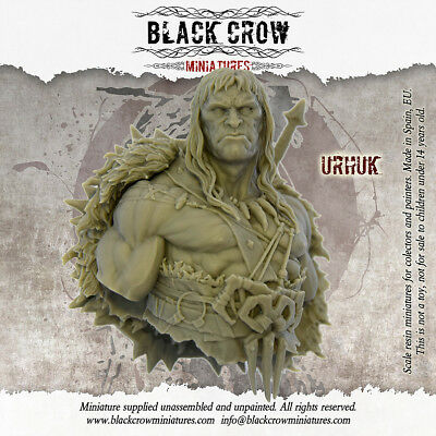 Urukh | Bust | RESIN KIT 1/10 | Free Shipping Worldwide | 280