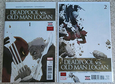 (Marvel) Deadpool vs. Old Man Logan #1 #2 #3 #4 #5 Wolverine [2017]