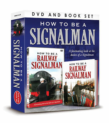 How To Be A Railway Signalman Dvd & Book Gift Set New Trains & Signal Box Guide