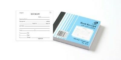 Olympic  number 619 Rent Receipt Book Duplicate 125mm x 100mm  free postage