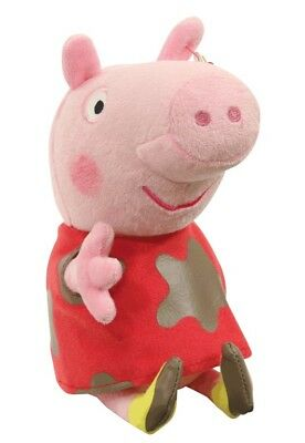 NEW TY Peppa Pig Plush Muddy Puddle Peppa from Mr Toys