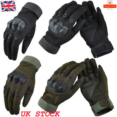 Tactical Work Mechanix Full Finger Gloves Military Army Airsoft Combat Outdoor