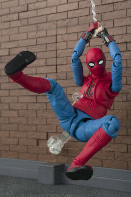 Spider-Man Homecoming Suit + Wall S.H. SH Figuarts Action Figure BANDAI