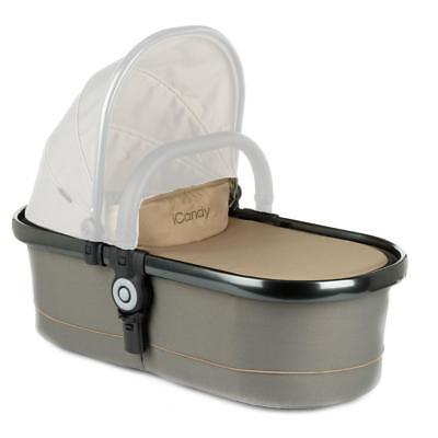 iCandy Peach Main Carrycot Olive/Space Grey *RRP £199.99*NOW £99.99* HALF PRICE