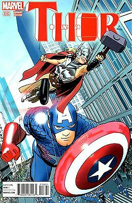 Thor Comic 8 NYC Variant Edition Marvel 2015   Aaron Dauterman Wilson