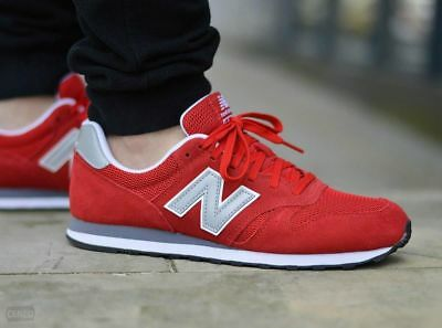 ZAPATILLAS NEW BALANCE ML373 RED CASUAL SNEAKER RETRO RUNNING LIGERAS TRANSPIRAN