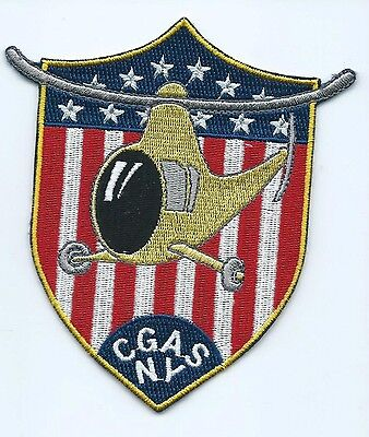 USCG Unted States Coast Guard CGAS NY patch 5X4-1/4X3