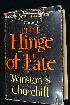 WW2 British The Hinge Of Fate Winston S Churchill Reference Book