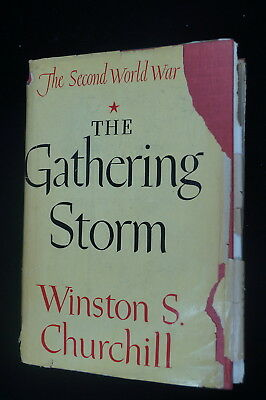 WW2 British The Gathering Storm Winston S Churchill Reference Book