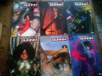 Gunnm grand format, collection complète de 1 à 6