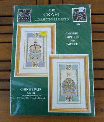 Stickpackung The Craft Collection Limited - Chinese Pair