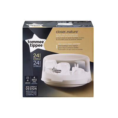 Tommee Tippee Closer to Nature Microwave Sterilizer - New, Open Box - 1458