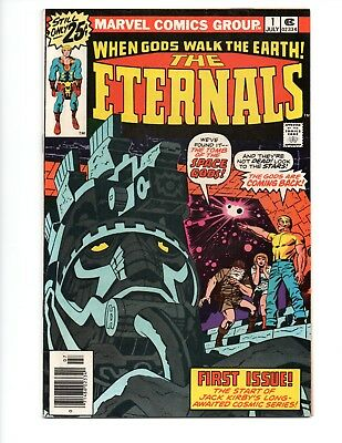 THE ETERNALS #1 JULY 1976 VF/NM US Cents Copy