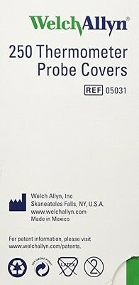 Welch-Allyn Disposable Probe Covers for SureTemp Plus 690- Bx/250  05031-101