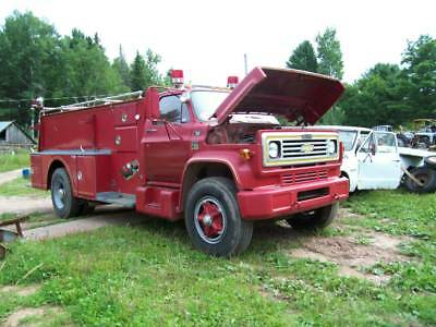 1976 Chevrolet C65 HOWE FIRE TRUCK 19,000 miles drive home