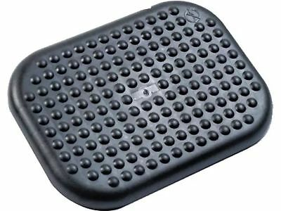 Rubbermaid Ergonomic Tilting Footrest W/ Massaging Texture Charcoal Black #65837