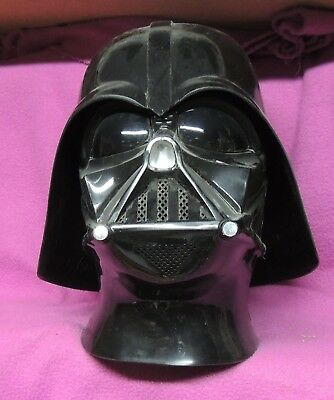 Star Wars Darth Vader Helmet Life Size Plastic Costume Used Don Post Studios