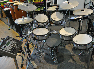 Used Roland TD20SX V Pro Series Electronic Drumset in Black