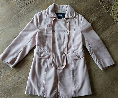 Burberry girl size 6 pink jacket GUC great deal