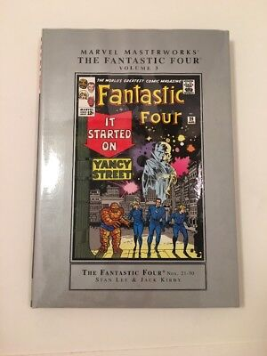 Marvel Masterworks The Fantastic Four Volume 3 Lee Kirby HC Like New!
