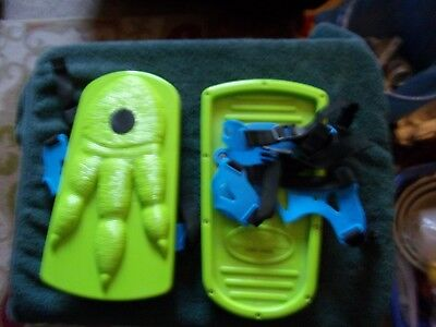 Ideal Snow Shoes Sno-Stompers Kids Tracks Dinosaur Claws
