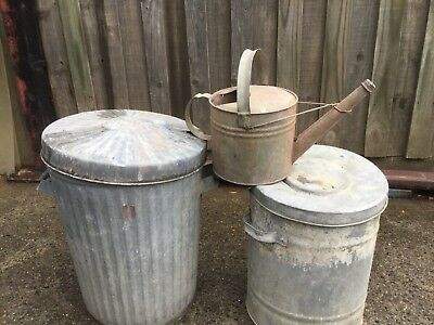 Watering Can & Willow Bins.