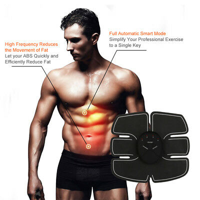 Ultimate ABS Simulator EMS Training Body Arm Abdominal Muscle Exerciser Sport