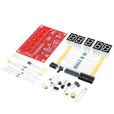 1Hz-50MHz Frequency Meter Kit Five Digit Nixie Tube Display Frequency Counters