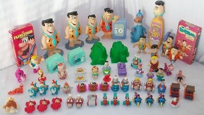 HUGE Vintage Lot Flintstones Toys & Collectibles Fred Betty Wilma Dino Pebbles