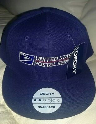 USPS Snapback Cap United States Postal Service Classic Hat Navy. New with tags.