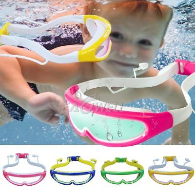 Anti Fog Child Kid Swimming Goggles Boys Eyewear Waterproof Swim Glasses Earplug