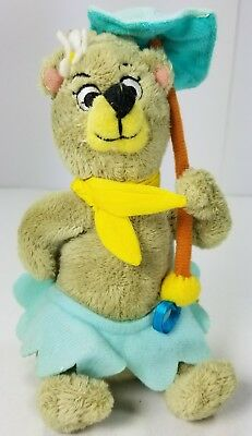 Hanna-Barbera Collection Yogi Bear's Girlfriend Cindy Bear Stuffed Plush 7""