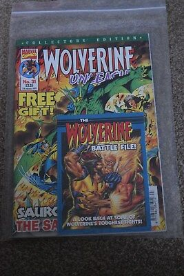 marvel collectors edition  Wolverine Unleashed no 31 Panini