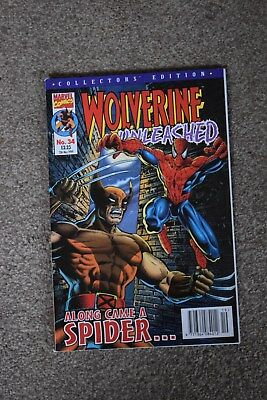 marvel collectors edition  Wolverine Unleashed no 34 Panini