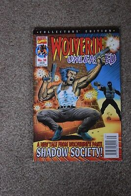 marvel collectors edition  Wolverine Unleashed no 38 Panini