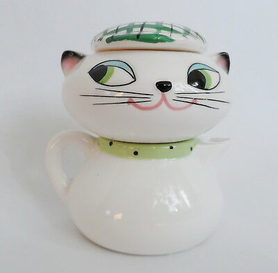 Hard to find Holt Howard cozy Kittens stackable Sugar and Creamer 1959 set