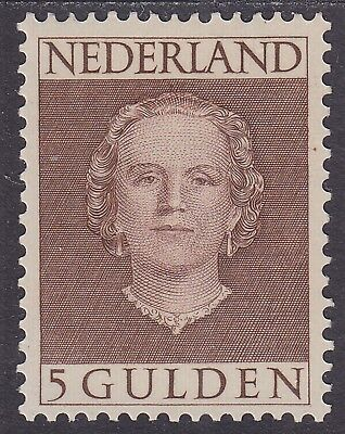 NVPH 536 Juliana En Face 5 Gulden 1949 postfris (MNH)